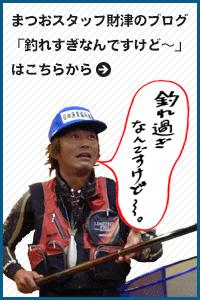 釣具のまつおスタッフ財津のブログはこちら